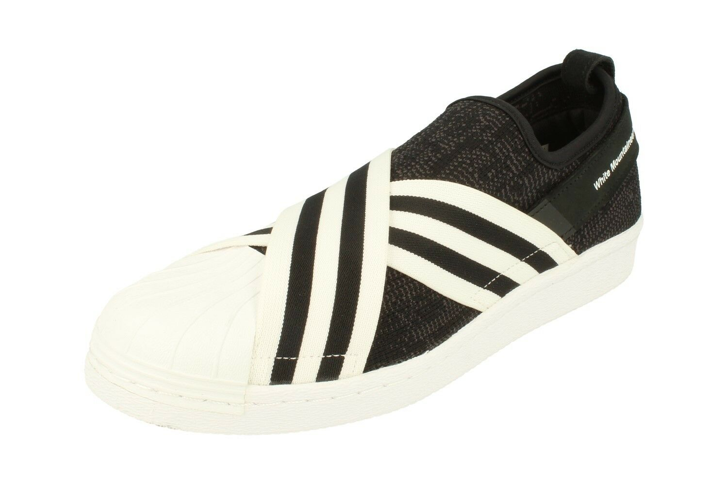 Adidas Originals White On Mountaineering Wm Superstar Slip On White Pk Hombre BY2880 6b6a0b