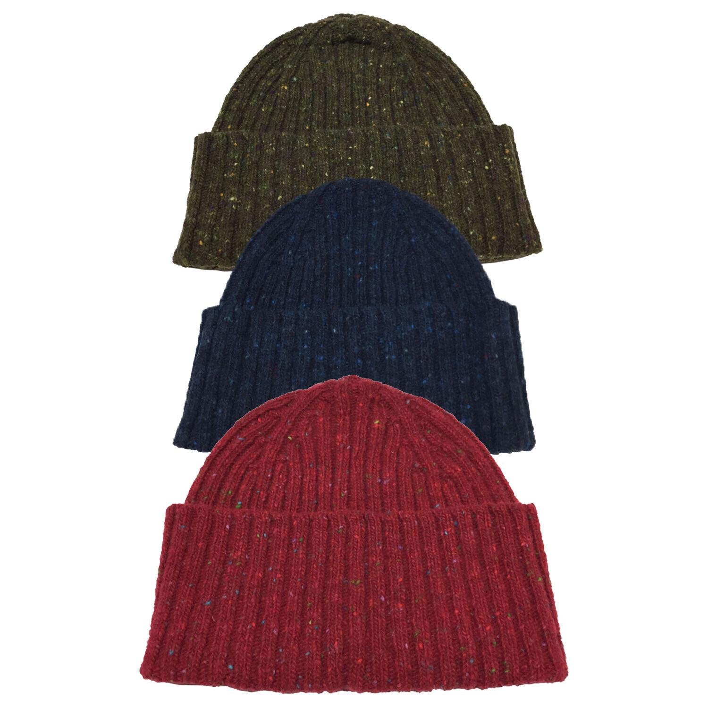 DRAKE'S LONDON Hut Wolle A Coste Mod HAT-67 MER-20763 Made Aus Schottland