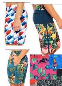 NWT-Arizona-Swim-Board-shorts-XXL-XL-L-30-34-36-Bomb-Pop-Boat-Palms-Mens-J042