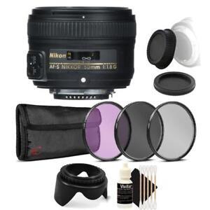 Nikon-AF-S-NIKKOR-50mm-f-1-8G-Lens-with-Accessory-Bundle-For-Nikon-DSLR-Cameras