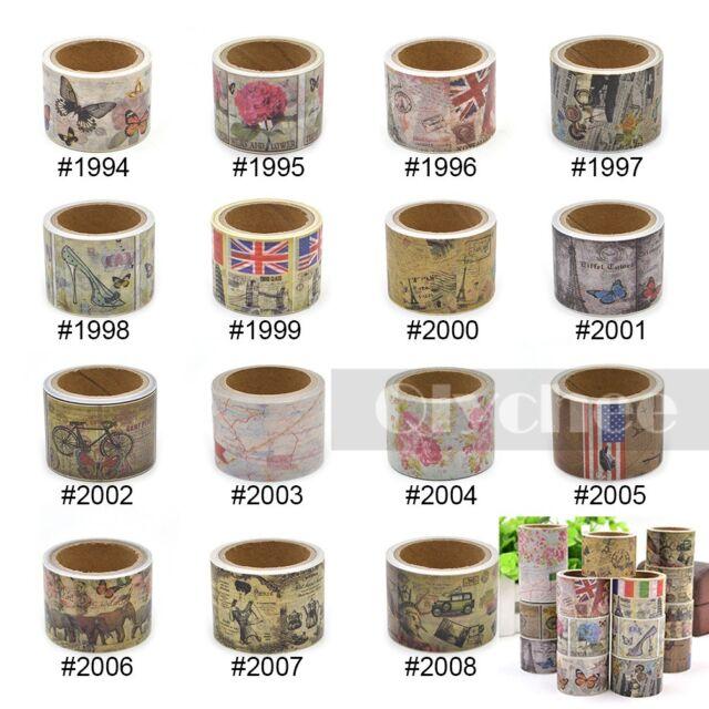 3cm Width Washi Tape DIY Decor Sticky Stationery Adhesive Sticker Free Shipping