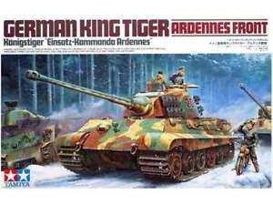 Kit Tamiya 01:35 Roi allemand du tigre des Ardennes Art avant du char 35252
