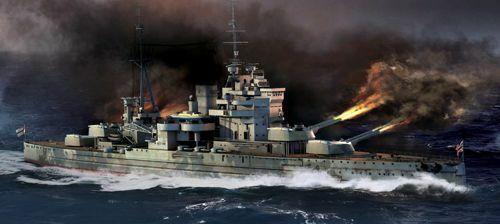 Trumpeter 1 700 Hms Regina Elisabetta 1941 Class Battleship  0579