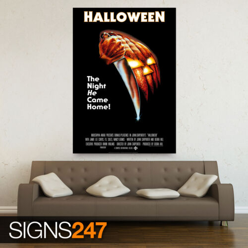 HALLOWEEN CLASSIC MOVIE 1978 ZZ021 Poster Print Art A1 A2 A3 MOVIE POSTER