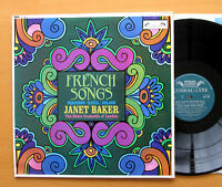 SOL 298 French Songs Janet Baker Melos Ensemble 1967 NM/EX