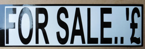 Numbers External vinyl stickers Decals weather proof 25-200mm FOR SALE sign