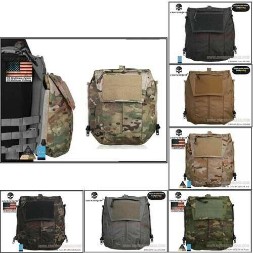 500D Nylon Giubbotto Antiproiettile Sacchetto Zipper Borsa pannello per Tactical AVS JPC2.0 Cpc Gilet