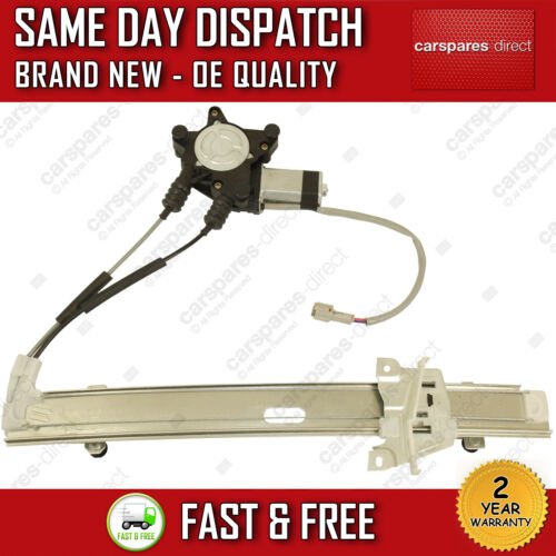 FOR KIA RIO 2000/>2005 FRONT LEFT SIDE ELECTRIC WINDOW REGULATOR WITH 2 PIN MOTOR