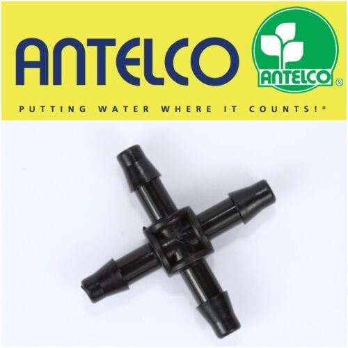 4mm Antelco Micro Bewässerung T-Form Ellbogen Durchgangsventil Tropfer