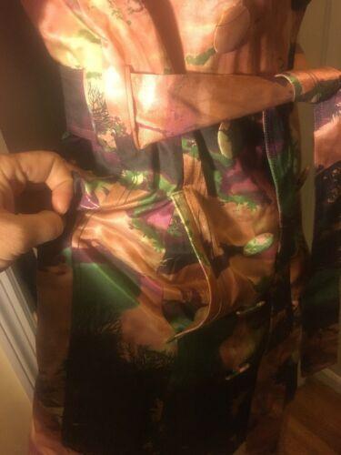 Nouveau S Dress Sz Flowered Vertigo Jacket 7Xxn8I6