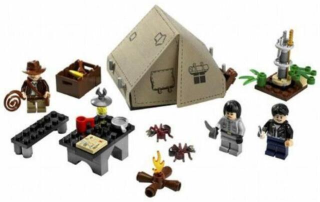 LEGO (LEGO) duel of Indiana Jones Jungle 7624