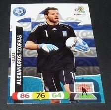 ALEXANDROS TZORVAS GRECE HELLAS FOOTBALL CARD PANINI UEFA EURO 2012