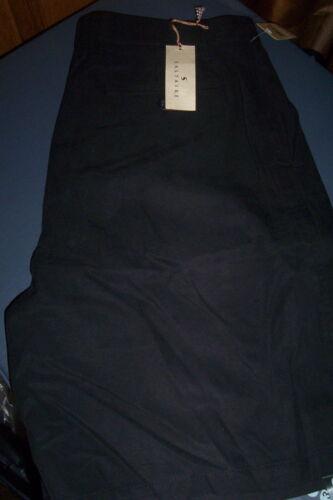 BLACK 40 NWT $50 MACHINE WASH SALTAIRE SILK//COTTON BERMUDA SHORTS