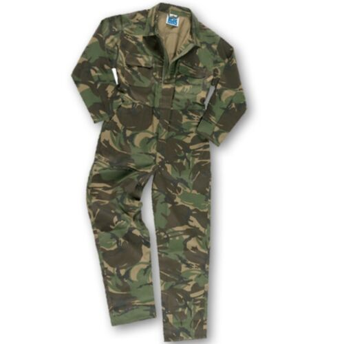WORLD BOOK DAY KIDS ARMY CAMO OVERALLS 1-13 YRS BOYS SOLDIER COSTUME COVERALLS