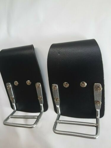 Heavy Duty Black Strong Snip Cutter Pliers Holder 4 Scaffold Tool Belt DIY Work