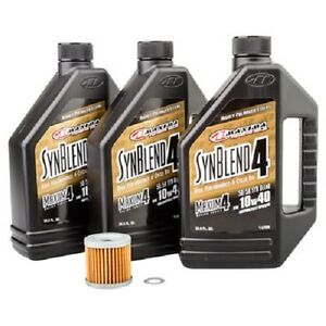 Tusk / Maxima Oil + Filter Change Kit SUZUKI LTZ400 Z400 2003-2009 ...