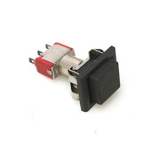 Black Details about  /C/&K 8168 Push Button Switch