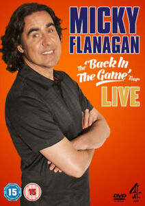 MICKY-FLANAGAN-Back-In-The-Game-Live-Stand-Up-Comedy-DVD-NEW