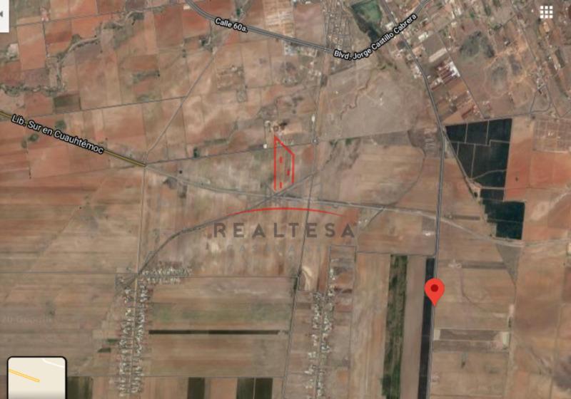 Terreno Venta Cd. Cuauhtémoc,  Chih 23,182,600 Juarey RGC