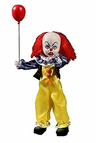 Living Dead Dolls Presents IT 1990 Pennywise Doll Action Figure MEZCO