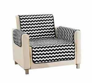 Tremendous Quick Fit Fifi Chevron Reversible Furniture Protector Chair Gmtry Best Dining Table And Chair Ideas Images Gmtryco