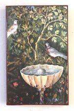Pompeji Italien Vogel Brunnen Wasser Fresko auf über 100 Jahre altem Ziegel 8