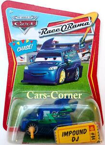 Disney-Pixar-Cars-1-Impound-DJ-84-Race-O-Rama-2008-Chase-NEU-OVP