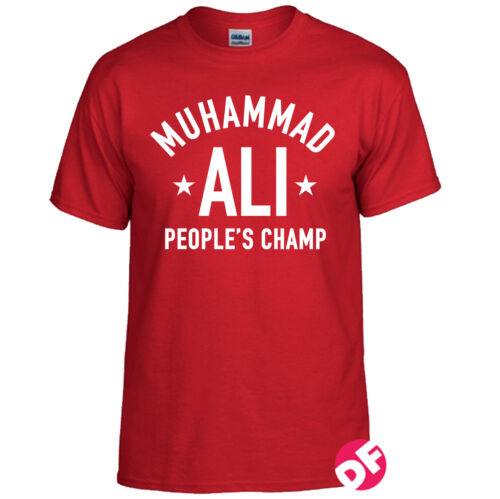 Muhammad ali populaire champion ali t-shirt wwf rétro wwe gym hommes kids t-shirt nouveau