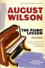 Drama, Plume: The Piano Lesson by August Wilson (1990, Paperback)