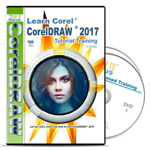 Details about New! Corel Draw CorelDRAW 2017 Tutorial Training 198 videos  11 hrs on 2 DVDs