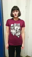 Women's Three Wolves T-shirt Ladies Top Wolf T-shirt The Mountain Wolves New