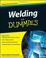 Welding For Dummies By Steven Robert Farnsworth, (paperback), For Dummies , New, on sale