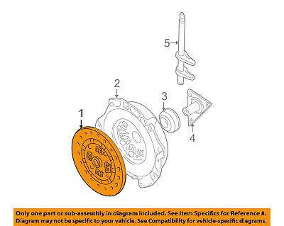Genuine Hyundai 41100-3A150 Clutch Disc Assembly