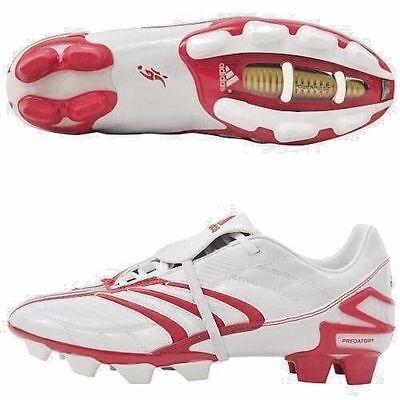 Adidas David Beckham + Predatore Absolute TRX Fg Scarpe Calcio BiancoRosso | eBay