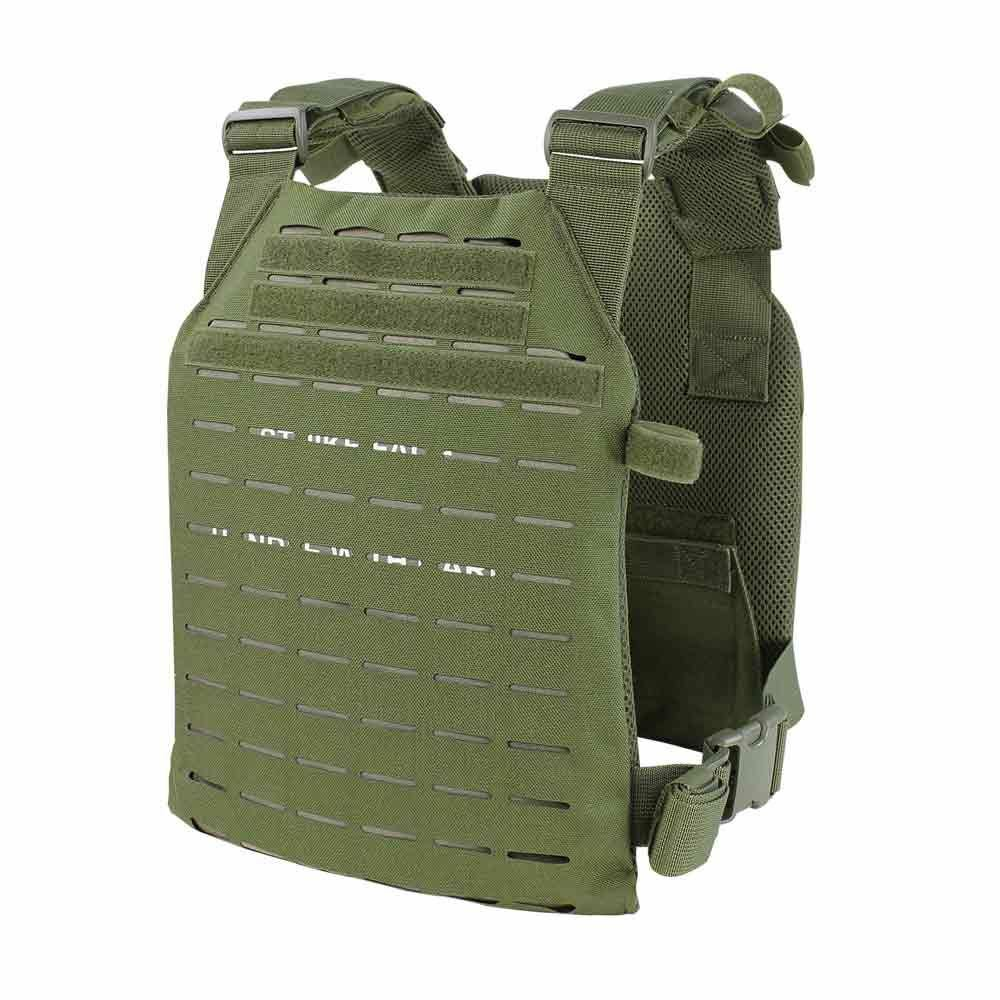 Condor LCS Sentry Plate  Carrier Laser Cut System - OD Green  save on clearance