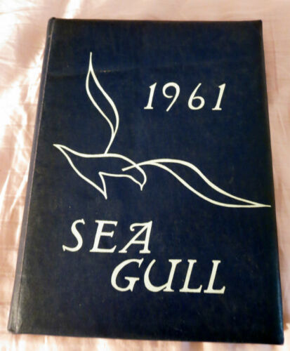 "High School in Swampscott, Massachusetts ""Sea Gull"" Yearbook from 1961"