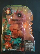 Untamed Radioactive X-RAY T-Rex Interactive Fingerling Dino Figure FREE SHIPPING