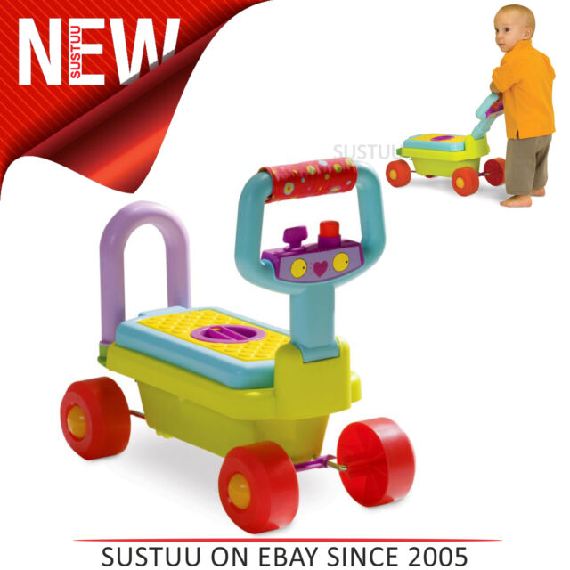 Taf Toys Entwicklungs Baby All-In-One Lauflernhilfe │ Spielzeugkiste│4 in 1