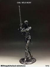 Ciri. Wild Hunt, Tin toy soldier 54 mm, figurine, metal sculpture
