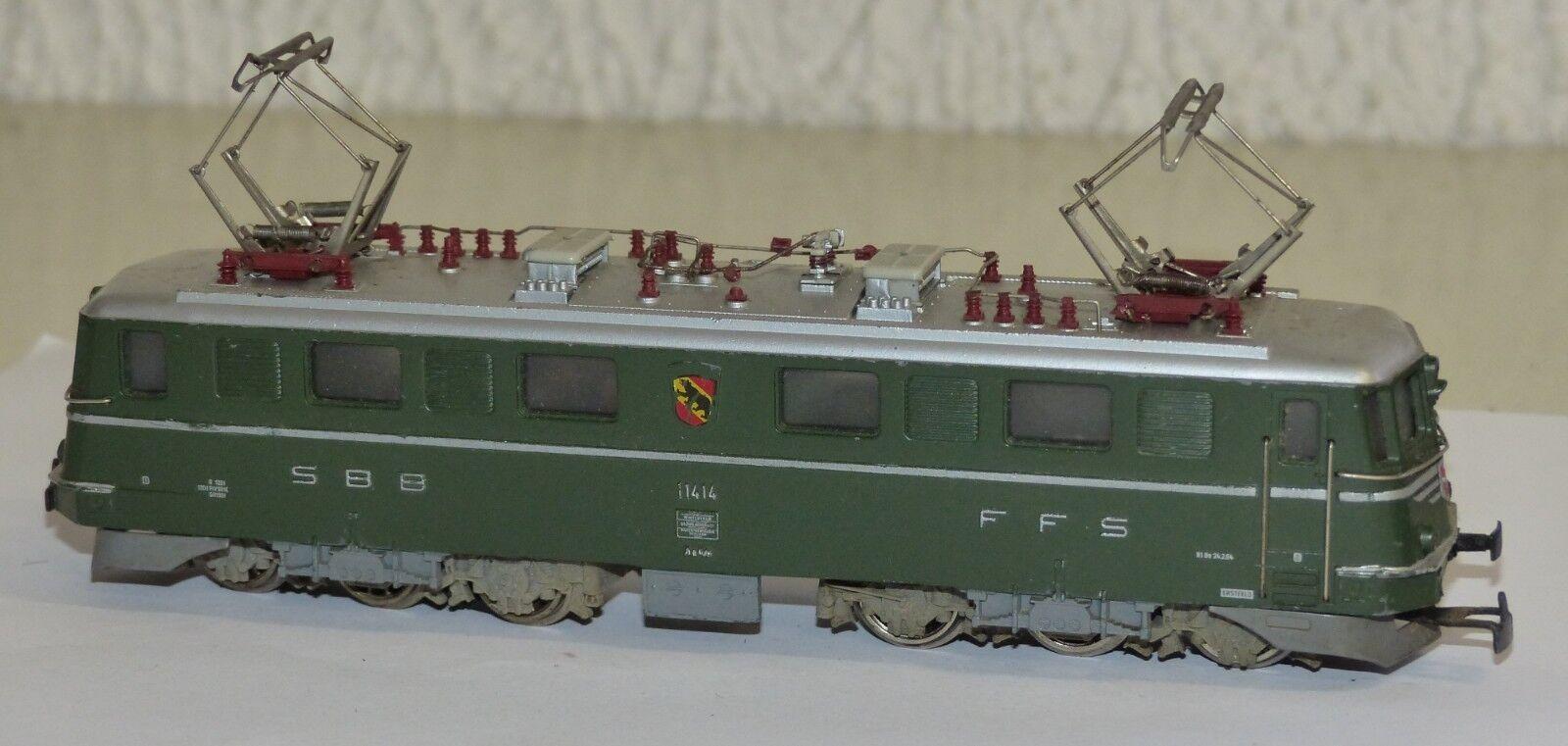3050 E-Lok AE 6/s SBB Verde Berna STEMMA h0 1:87 in ghisa ca vs 1