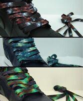 Limited Edition Galaxy Print Shoelace Buy 2 Get 1 Free Foamposite Jordan