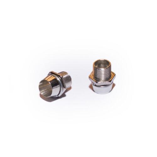 métal 10 x LED Montage Anneaux//version//prise châssis vis-COB smd