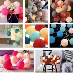 20LED-Cotton-Ball-Fairy-String-Light-Holiday-Wedding-Party-Patio-Christmas-Decor