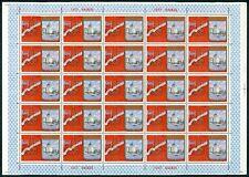 RUSSIA 4687 OLYMPIA 1980 BOGEN postfrisch ** TOP! OLYMPICS SHEET MNH z2828