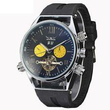 Tourbillon Classical Wrist Watch Army Men's Skeleton Date Automatic Mechanical
