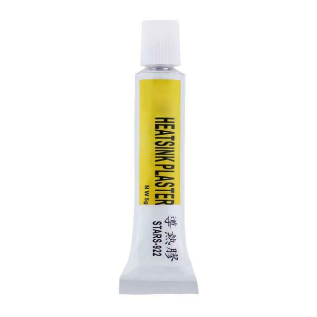 Heatsink Plaster Thermal Silicone Grease Cooling Paste Adhesive Compound Glue