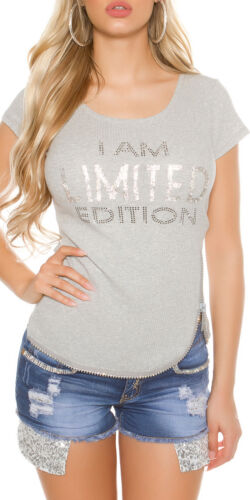 """Women/'s /""""I am Limited Edition/"""" Knit Top"""