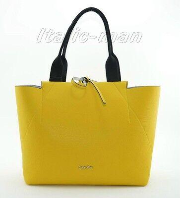 Generoso Borsa-bag Donna Calvin Klein - K60k603393 Isa Metallic Large Reversibile
