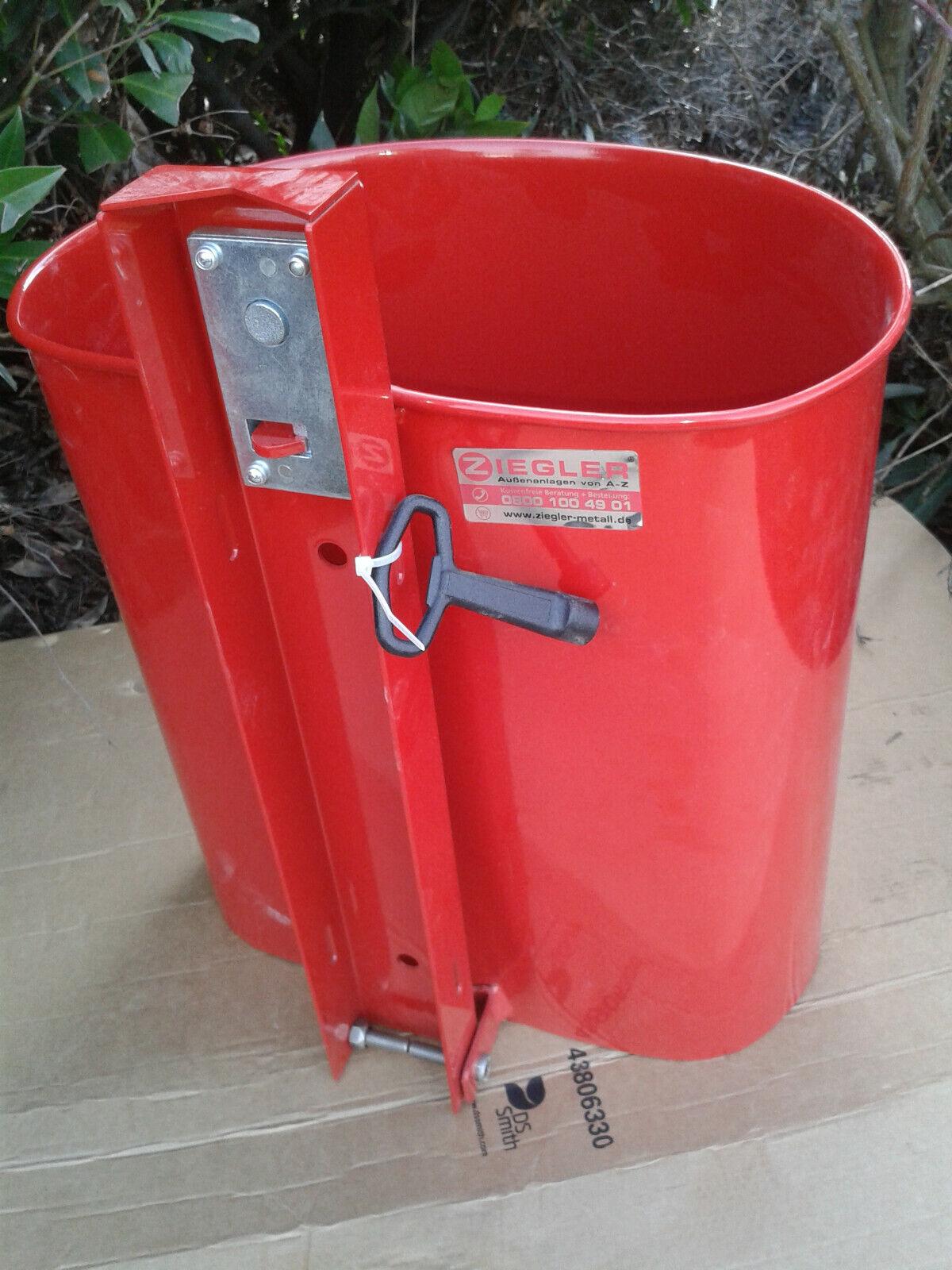 Abfallbehälter für den Innen- und Außenbereich aus Stahl ( Liste   )