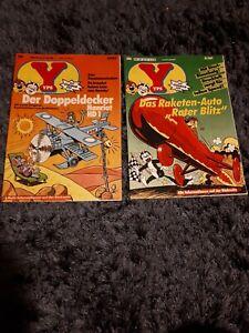 2X YPS Heft 535 + 539 mit Gespenster GmbH + Asterix + Robin aus dem Wald
